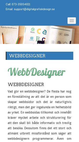 Mobile preview of digitalgrafiskdesign.se