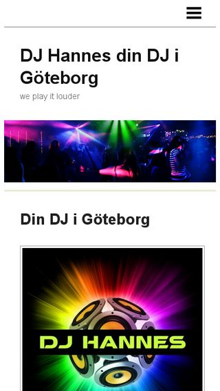 Mobile preview of djhannes.se