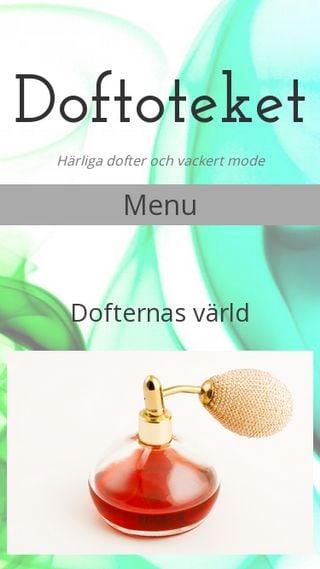 Mobile preview of doftoteket.se