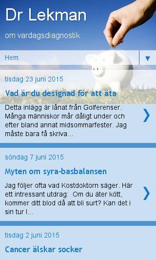 Mobile preview of doktorlekman.se