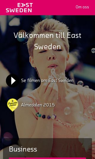 Mobile preview of eastsweden.se