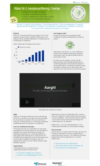 Mobile preview of ehandelscertifiering.se