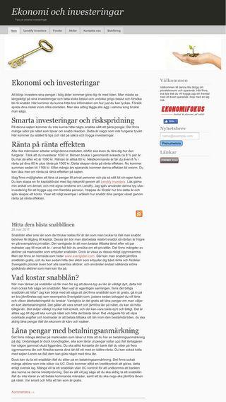 Mobile preview of ekonomi365.nu