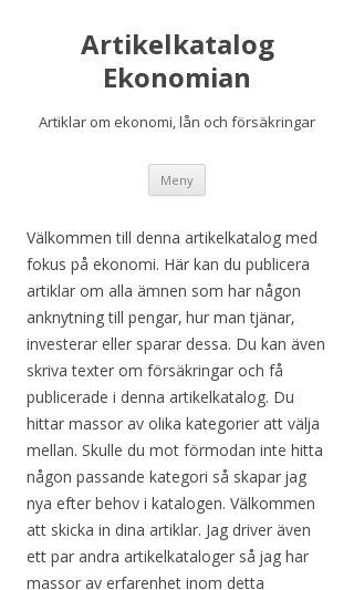 Mobile preview of ekonomian.se