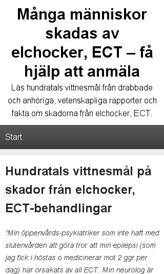 Mobile preview of elchocker.se