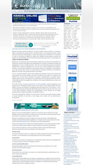 Mobile preview of eleuribor.es