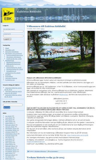 Mobile preview of enhornabatklubb.se