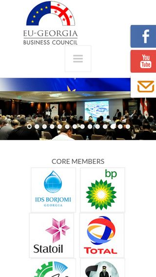 Mobile preview of eugbc.net