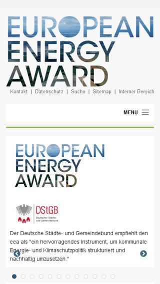 Mobile preview of european-energy-award.de