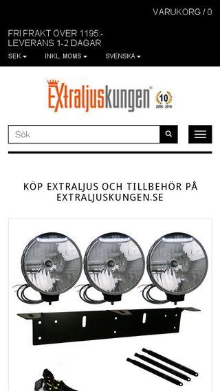 Mobile preview of extraljuskungen.se