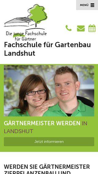 Mobile preview of fachschule-gartenbau.de