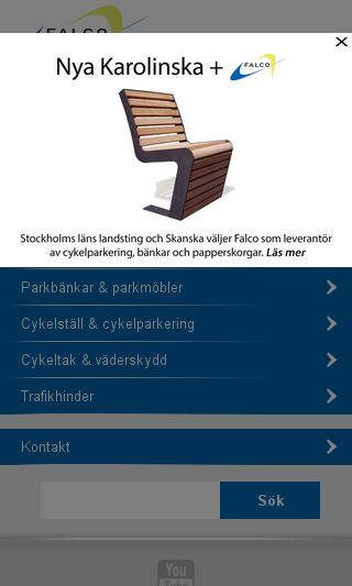 Mobile preview of falcostreetfurniture.se