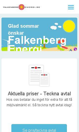 Mobile preview of falkenberg-energi.se