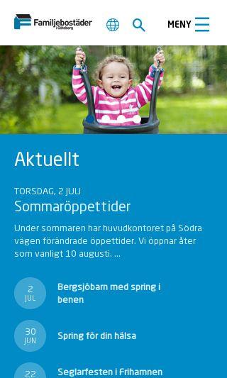 Mobile preview of familjebostader.se