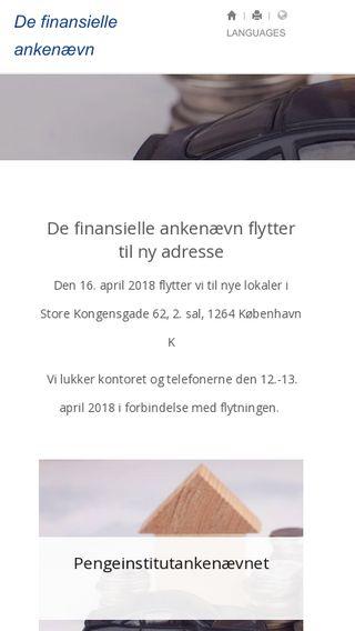 Mobile preview of fanke.dk