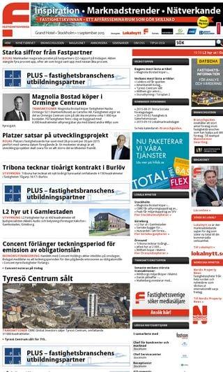 Mobile preview of fastighetssverige.se