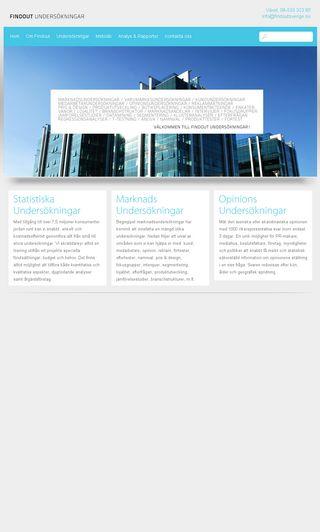 Mobile preview of findoutsverige.se