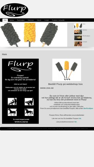 Mobile preview of flurp.se
