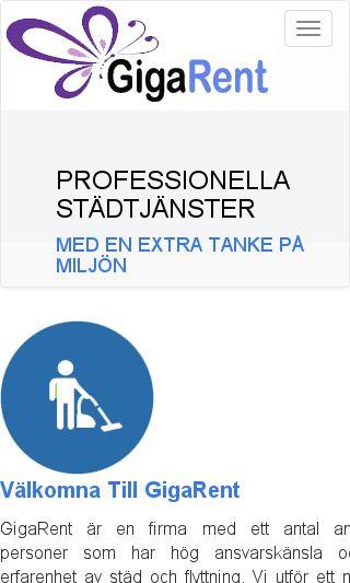 Mobile preview of flyttstadning-expert.se