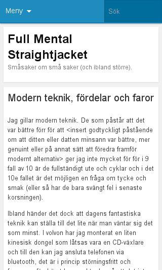 Mobile preview of fmsj.se