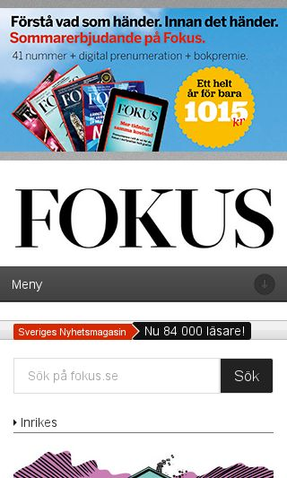Mobile preview of fokus.se