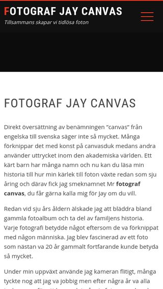 Mobile preview of fotografcanvas.se