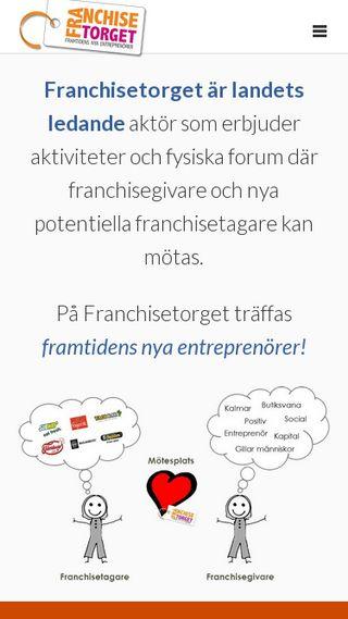 Mobile preview of franchisetorget.se