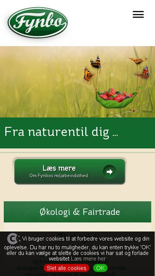 Mobile preview of fynbofoods.dk