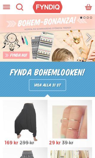 Mobile preview of fyndiq.se