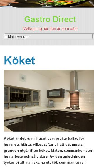Mobile preview of gastrodirect.se
