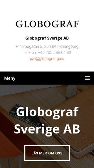 Mobile preview of globograf.se
