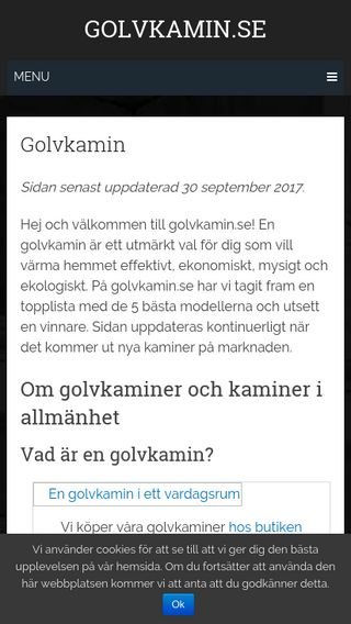 Mobile preview of golvkamin.se