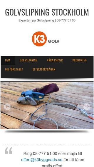Mobile preview of golvsliparnastockholm.nu