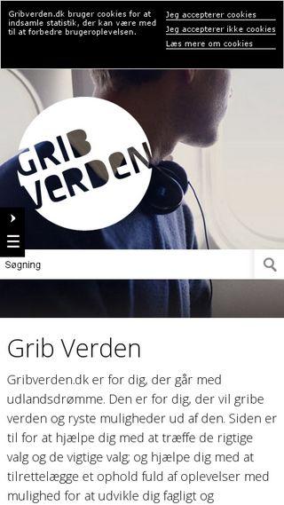 Mobile preview of gribverden.dk