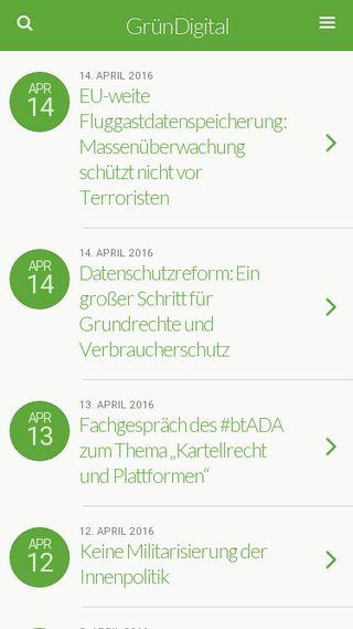 Mobile preview of gruen-digital.de