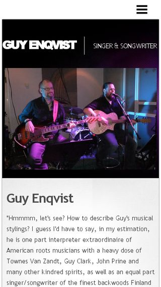 Mobile preview of guyenqvistmusic.n.nu