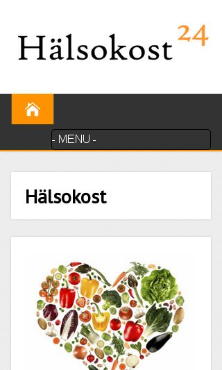 Mobile preview of halsokost24.se