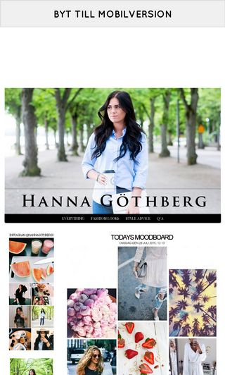 Mobile preview of hannagothberg.se