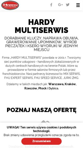 Mobile preview of hardymultiserwis.pl