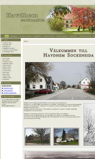 Mobile preview of havdhem.se