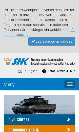 Mobile preview of havkom.se