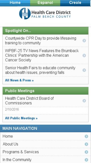 Mobile preview of hcdpbc.org