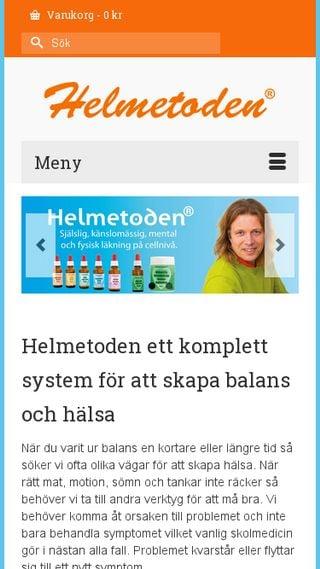Mobile preview of helmetoden.se
