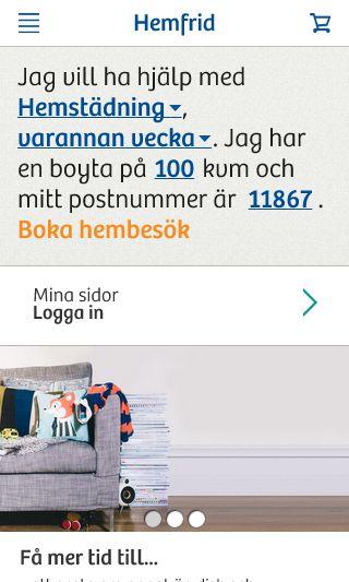 Mobile preview of hemfrid.se