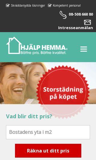 Mobile preview of hjalphemma.se