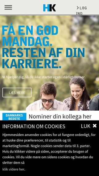 Mobile preview of hk.dk