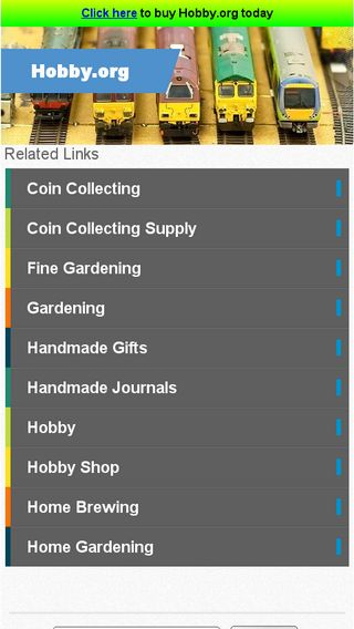 Mobile preview of hobby.org