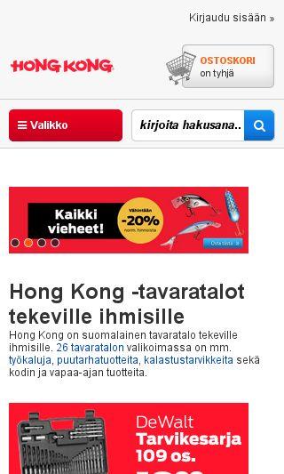 Mobile preview of hongkong.fi