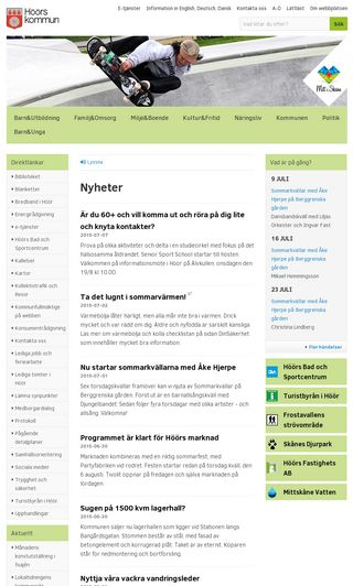 Mobile preview of hoor.se