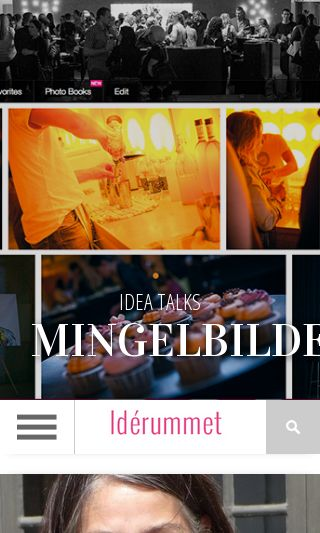 Mobile preview of iderummet.se
